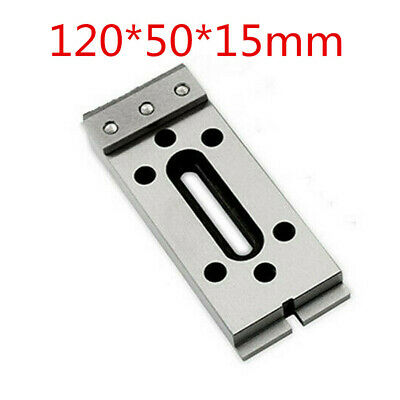 1pc Wire EDM Fixture Board Stainless Jig Tool For Clamp And Level 120x50x15mm • 37.99£