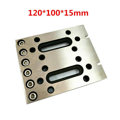 1x Wire EDM Fixture Board Stainless Jig Claw Clamp And Level Tool 120x100x15mm • 99.89£
