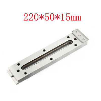 1x Wire Cut EDM Fixture Board Stainless Jig CNC Tool Clamp Level 220x50x15mm • 54.99£