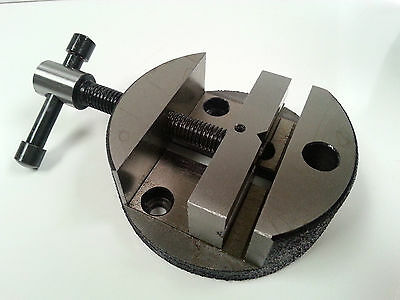 Amadeal 3  Round Vice For Rotary Table Or Vertical Slide • 25.50£