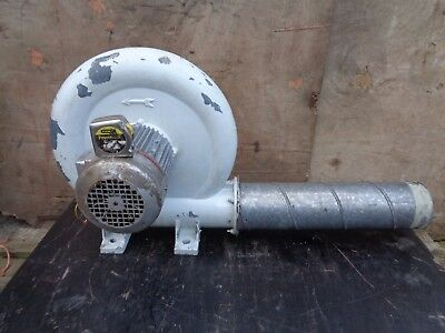 GERMAN MADE - 5   Inch / 128 Mm EXTRACTION FAN - 3 PHASE - 380 TO 420 VOLTS  • 276£