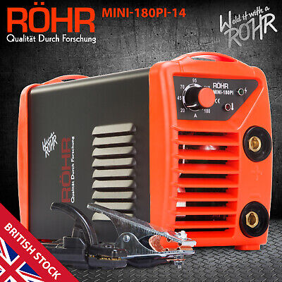 ROHR ARC Welder Inverter MINI 240V 180amp MMA DC Portable Stick Welding Machine • 89.99£