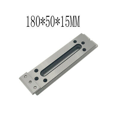 1X CNC Wire EDM Fixture Board Stainless Jig Tool For Clamp And Level 180x50x15mm • 53.99£