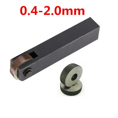 1x Straight Knurling Lathe Turning Wheel Forming Fine Course Metal Work Tool  • 17.99£