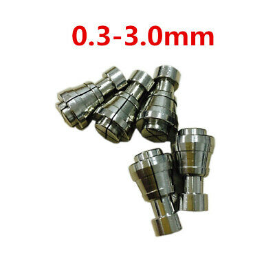 1pc Sodick Machine CNC Wire EDM Drill Guide 0.3-3.0 Mm Stainless Steel Collet • 24.99£