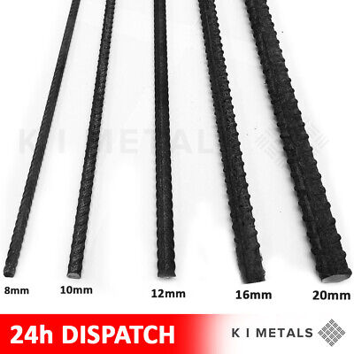 Reinforcement Steel Bar For Concrete Rebar | Reinforcing | All Sizes 8mm - 16mm • 39.89£