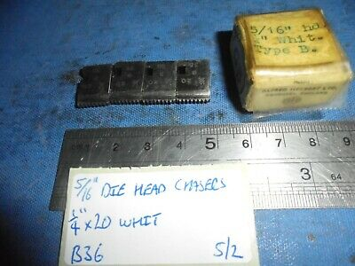 5/16  Coventry Die Head Chasers - 1/4  X 20 Whit • 11£