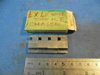 1/2  Coventry Die Head Chasers - 1/4  X 40 Whit • 13£
