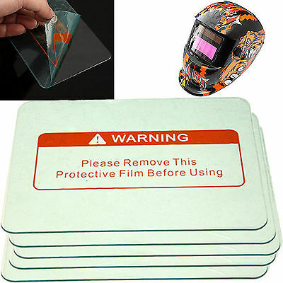 New 5/10/20pcs Clear Welding Cover Lens 4.4  X 3.5  For Helmet Protective Gear • 11.59£