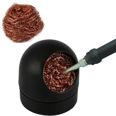 Soldering Solder Iron Tip Cleaner Steel Cleaning Wire Ball Heavy Duty Welding • 2.39£