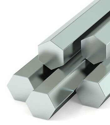 Stainless Steel , Hexagonal Bar, 303 , AF , Imperial Sizes ,300mm ,600mm ,1200mm • 50.50£