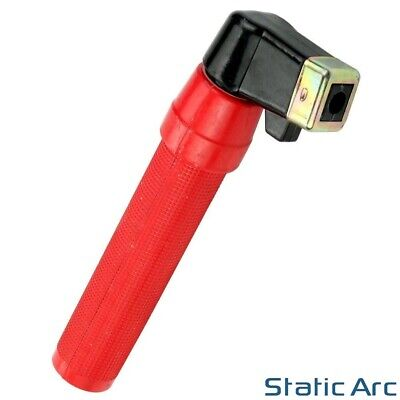 400a Electrode Holder Twist Type Arc Mma Welding Stick Torch Rod Grip Clamp Red • 8.99£