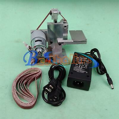 DIY Mini Belt Sander Bench Mount Grinder Polishing Grinding Machine Buffer • 48.71£