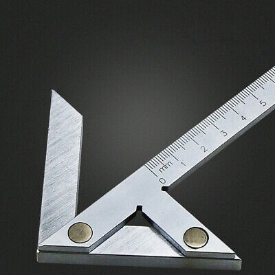Tool Stainless Steel Round Bar Center Gauge Vernier Marking Accurate Gaging Line • 15.19£
