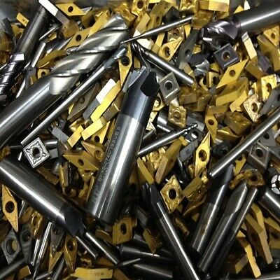 Scrap Carbide Inserts Milling, Turning End-mills Tips. Paying Up To £11.00Per Kg • 36.90£