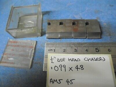 1/2  Coventry Die Head Chasers - .099 X 48 • 13£