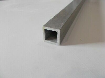 GRP (Glass Reinforced Plastic) 44x44x6mm Box Section 2m Long Grey • 15.90£