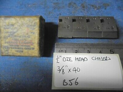 1/2  Coventry Die Head Chasers - 3/8  X 40  • 13£