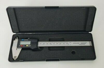 Silverline Digital 0-150 Mm Vernier Caliper Micrometer Hardened Steel With Case • 14.99£