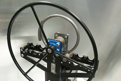 New Ring Roller, Bender, Flat/ Round, Pipe, Box, Tube, With Round Hand Wheel • 580£