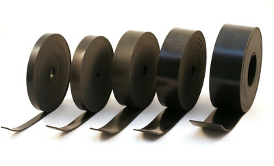Solid Neoprene Rubber Strip 3mm Thick 5M Length With Various Width • 20.99£