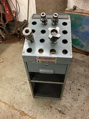 Bridgeport BT40 Tooling Stand/Cabinet - Complete With Tooling • 190£