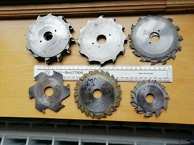 Wadkin Scribing Blades For Machine- Bundle - See Photos For Size/type, 20mm Hole • 55£