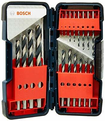 Bosch 2608577350 Metal Twist Drill HSS-Set 18-Piece PointTeQ In Box, 1-10 Mm • 18.99£