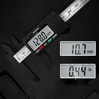 Digital Electronic Gauge Plastic Calipers Vernier 100mm Caliper Ruler Tool • 3.25£