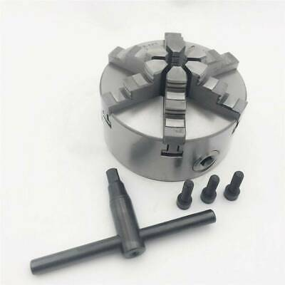 6Jaw 125mm Lathe Chuck 5  Self-Centering Step Jaws Metal Lathe Tool Accessory • 89.40£