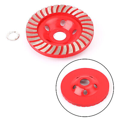4-1/2  Diamond Grinding CUP Wheel Disc Grinder Concrete 28 Segment 7/8 - 5/8  AY • 19.19£
