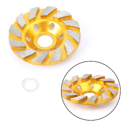4  Diamond Segment Grinding Wheel Disc Grinder Cup Concrete Stone Cut AY • 11.99£