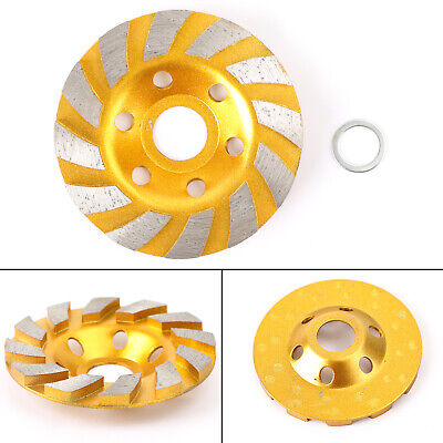 4  / 5  Diamond Segment Grinding Wheel Disc Grinder Cup Concrete Stone Cut AY • 20.39£