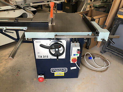 Sedgwick TA315 Saw Bench 240 Volt In Great Condition  • 1,450£