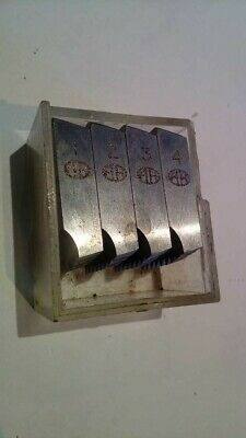 1/2  X 16 Coventry Die Set By Alfred Herbert • 4.50£