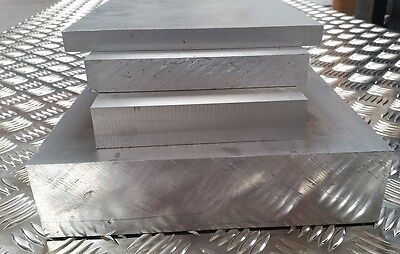 Aluminium Plate Flat Sheet 10mm - 65mm Many Sizes Available Grade 6082T6 HP30 • 21.41£