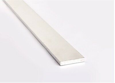 Aluminium Flat Bar / Plate - VARIOUS SIZES 1 Meter Length • 2.50£