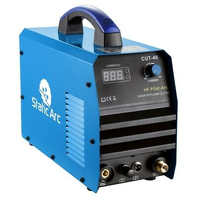 CUT 40A IGBT INVERTER PLASMA CUTTER HIGH FREQUENCY PILOT ARC METAL CUTTING 10mm • 169.99£
