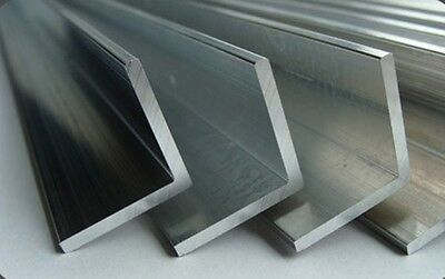 ALUMINIUM EXTRUDED ANGLE !!! 2 Meter Long !!!  Various Sizes - BEST PRICE • 8.50£