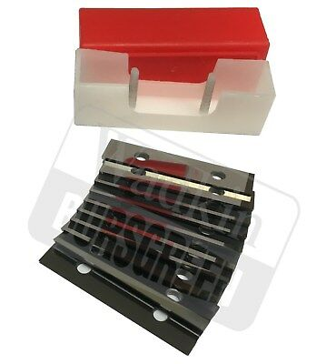 10 Pieces. 50 X 12 X 1.5mm CARBIDE REVERSIBLE TURN BLADES REVERSIBLE TIP KNIVES  • 18.50£