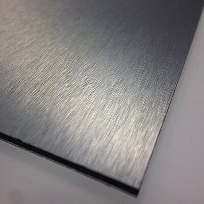 3mm Silver Brushed Dibond ACM Sheet Aluminium Composite 8 SIZES TO CHOOSE • 192.99£