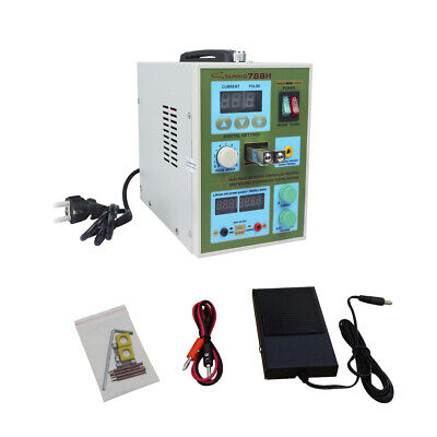 788H LED Dual Pulse Battery Spot Welding 18650 Battery Charger 60A 50 - 800 A • 120£