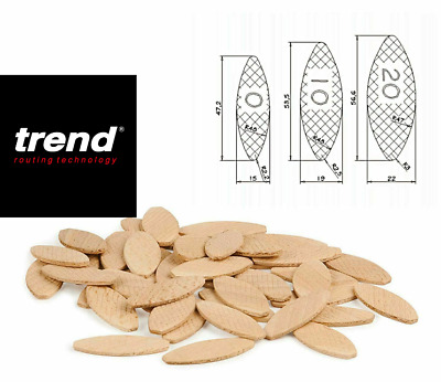 Trend  Wood Jointing Biscuits For Wood & Kitchen Worktop  Choose Siz 0 10 20 A18 • 12.29£