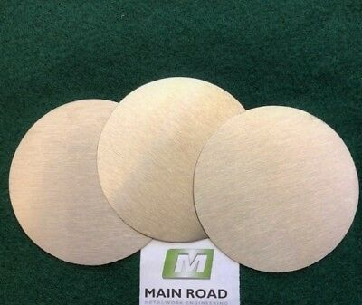 Stainless Steel Disc / Circles 3mm Thick Grade 304 Various Diameters • 4.50£