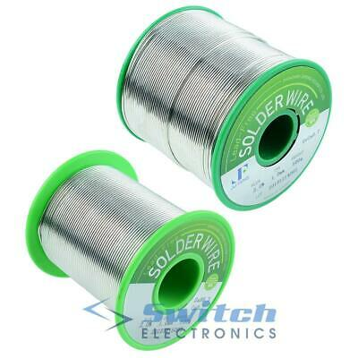 0.7mm 1mm 1.2mm Lead Free Solder Wire Fluxed Core 100g / 500g • 18.99£