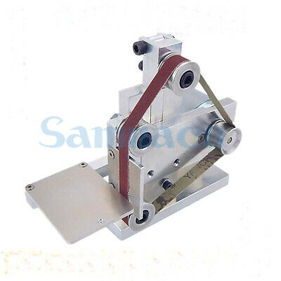 DC 12V-24V Sanding Machine With 10mm Belt For Polishing Electric Knife Grinding • 58.47£