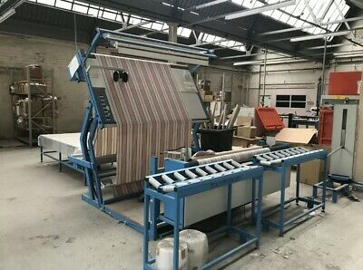 Fabric Measuring + Inspection Machine Includes In Feed Table And Roll Handling • 3,500£
