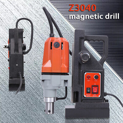 MD40 Metal Magnetic Drill Press Electric Powerful Drill 1100W 550RPM 220V • 189£