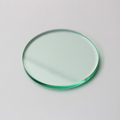 Glass Effect Laser Cut Plastic Circles Acrylic Discs Perspex 5mm-FREE CUSTOM CUT • 1.60£