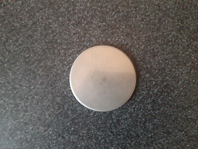 75mm Diameter X 3mm Thick Stainless Steel Disc • 3£